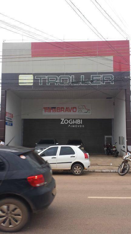 Galpão comercial para locação, São Cristóvão, Porto Velho.
