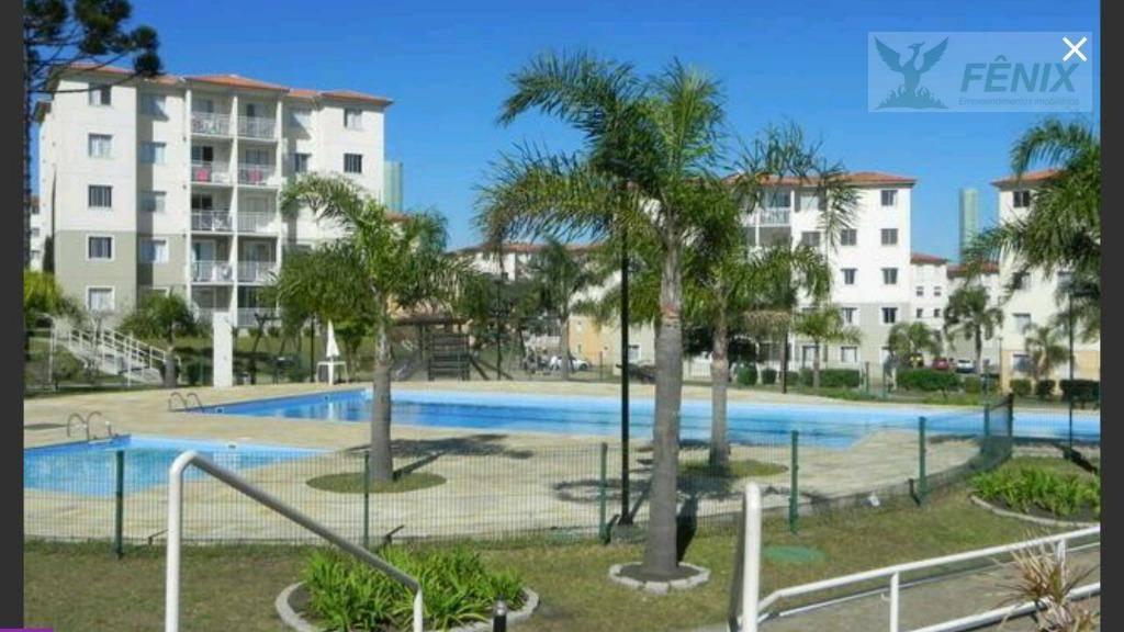 Apartamento residencial à venda, Atuba, Colombo.