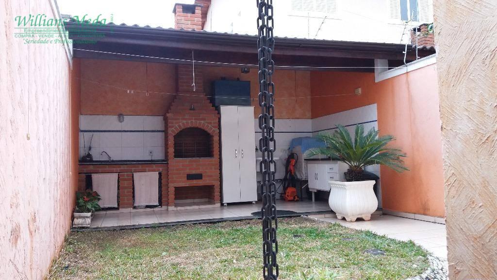 Sobrado com 3 dormitórios à venda, 163 m² por R$ 750.000 - P