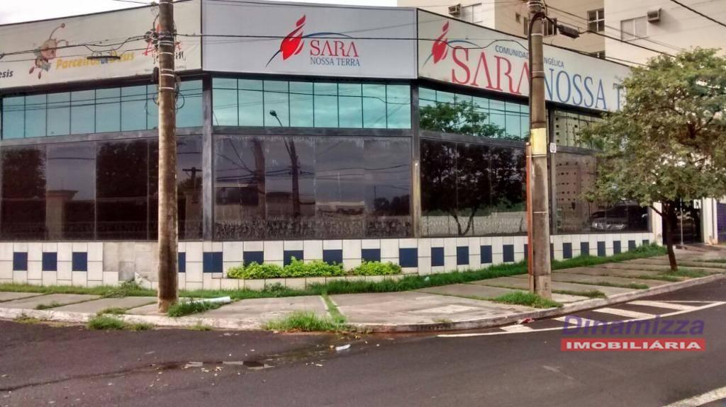 Galpão comercial para locação, Santa Maria, Uberaba.