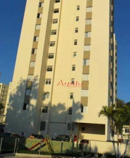 Apartamento residencial à venda, Vila Lutécia, Santo André - AP1215.