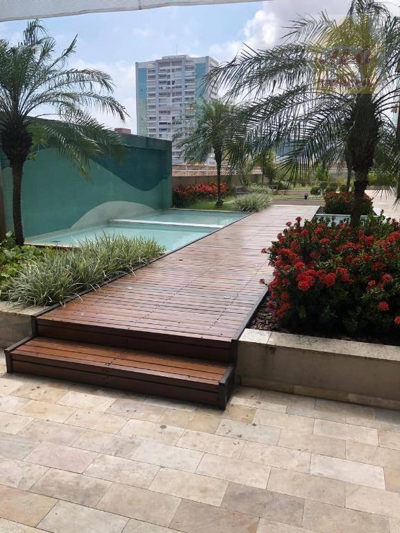 Apartamento com 3 dormitórios à venda, 92 m² por R$ 550.000,00 - Encruzilhada - Santos/SP