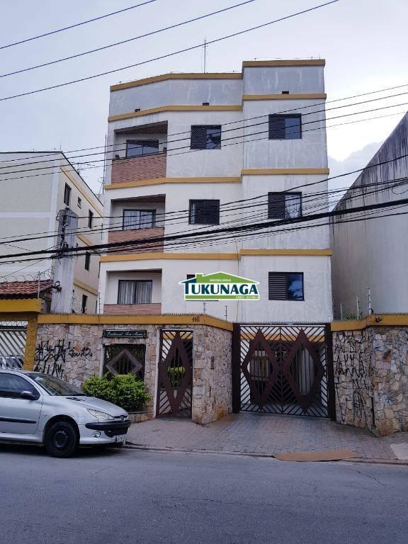 Apartamento com 2 dormitórios para alugar, 59 m² por R$ 1.000/mês - Picanco - Guarulhos/SP