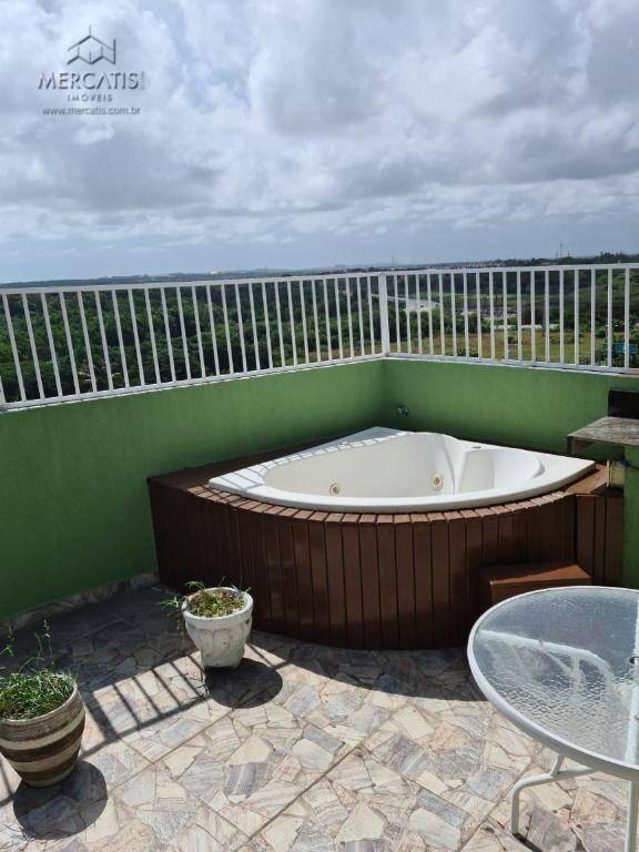terraço | jacuzzi com hidromassagem | (pav. superior)