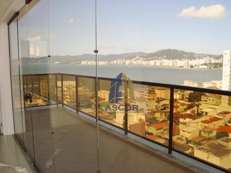 Sala comercial para locação, com vista para o mar,Estreito, Florianópolis. SA0207
