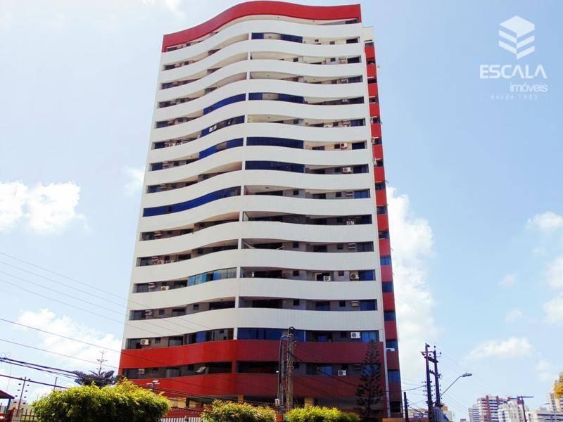 Apartamento com 3 quartos à venda, 150 m², estar íntimo, 3 vagas, financia - Papicu - Fortaleza/CE