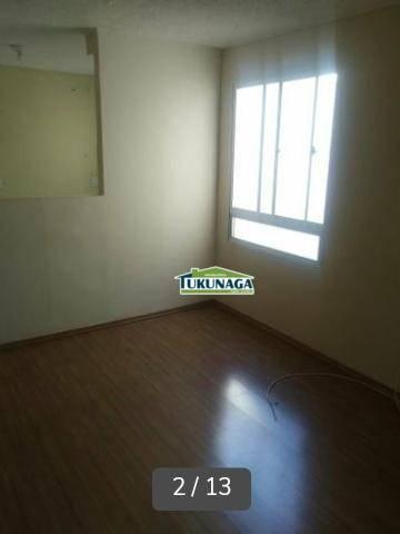 Apartamento com 2 dormitórios para alugar, 40 m² - Jardim Ansalca - Guarulhos/SP