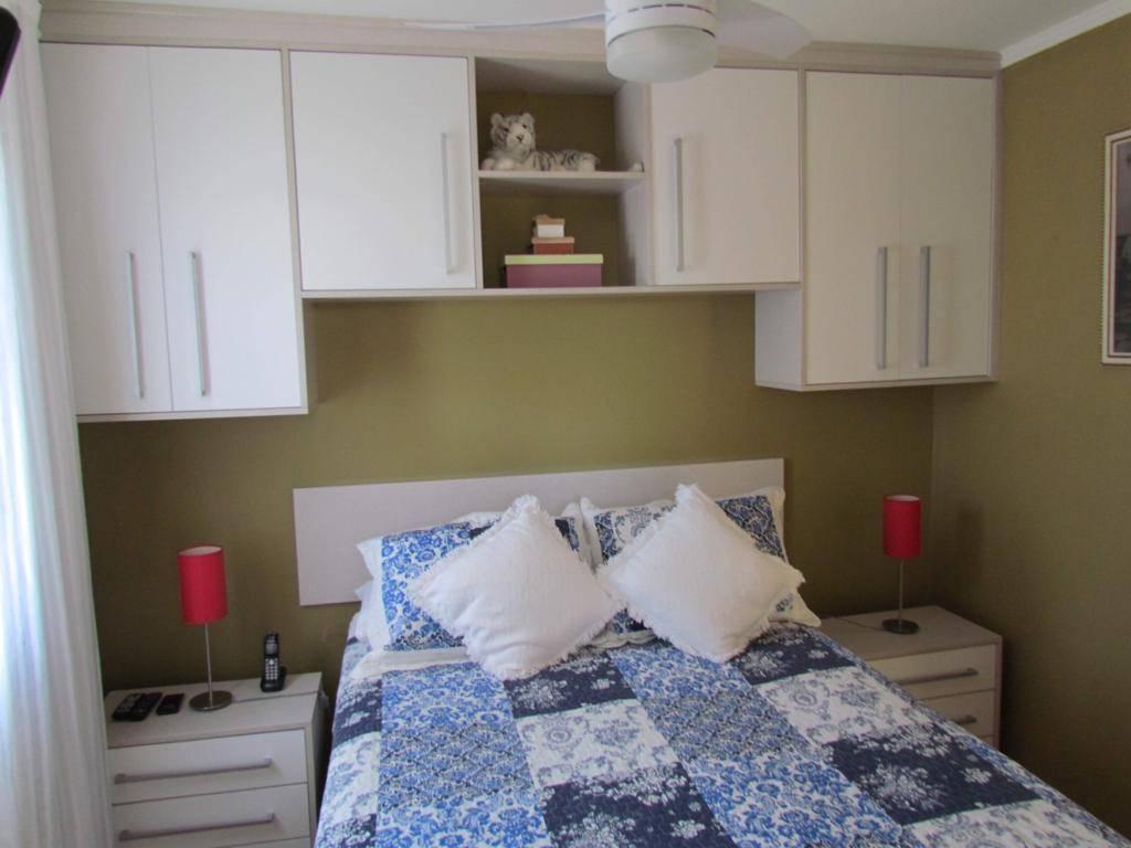 Apartamento com 3 dormitórios à venda, 62 m² por R$ 320.000 - Vila Alzira - Santo André/SP