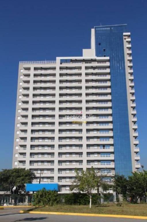 Apartamento Duplex com 1 dormitório para alugar, 63 m² por R$ 1.900/mês - Jardim do Mar - São Bernardo do Campo/SP