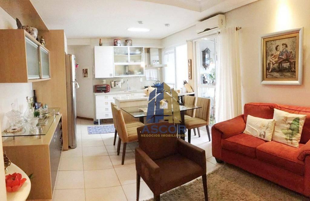 Apartamento para alugar, 61 m² por R$ 2.700,00/mês - Centro - Florianópolis/SC