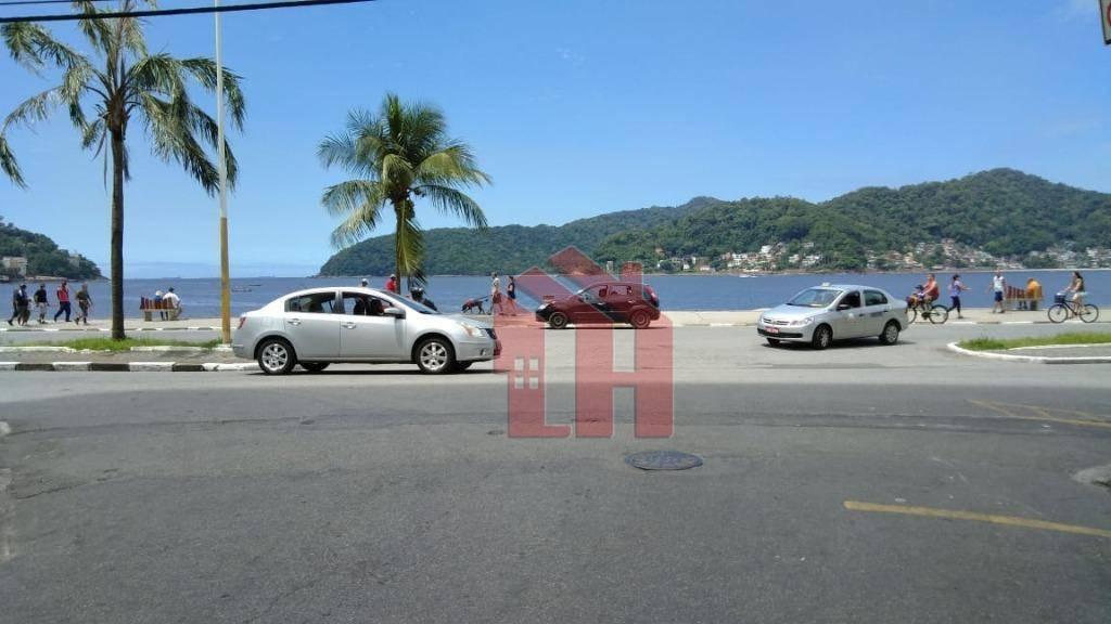 Kitnet Mobiliada, andar térreo, proxima a praia do Gonzaguina e Av. Presidente Wilson