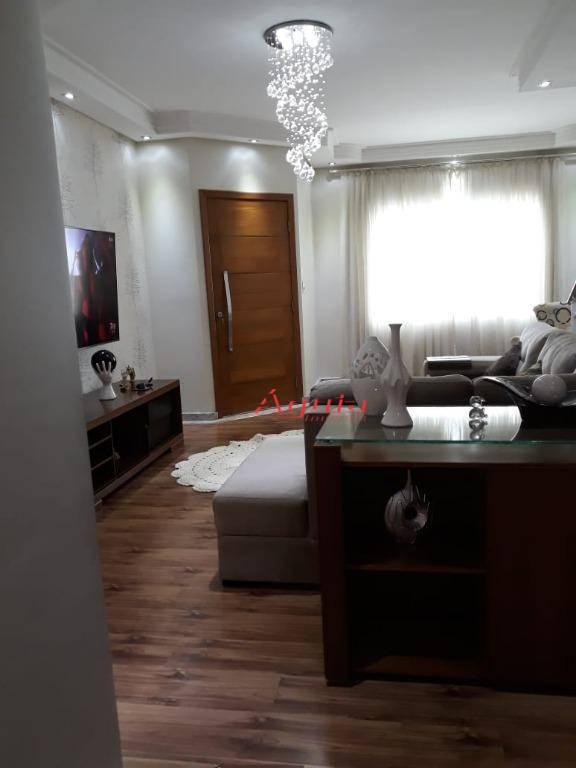 Sobrado com 3 dormitórios à venda, 300 m² por R$ 650.000 - Jardim Rina - Santo André/SP