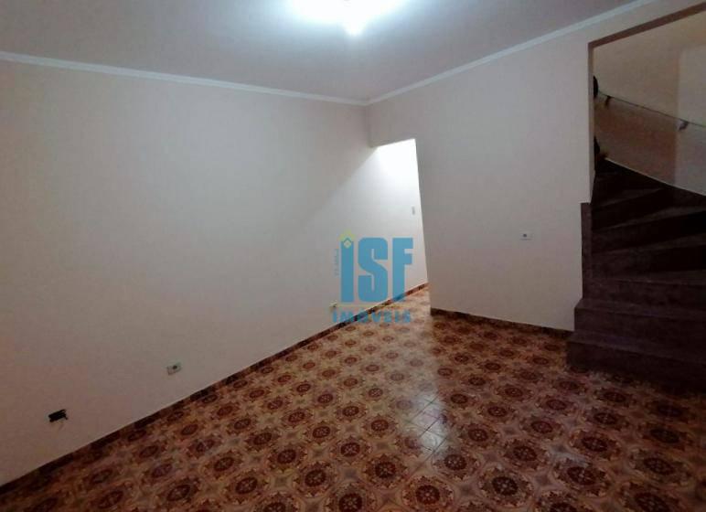 Sobrado com 3 dormitórios para alugar, 120 m² por R$ 1.800/mês - Cipava - Osasco/SP - SO5506.