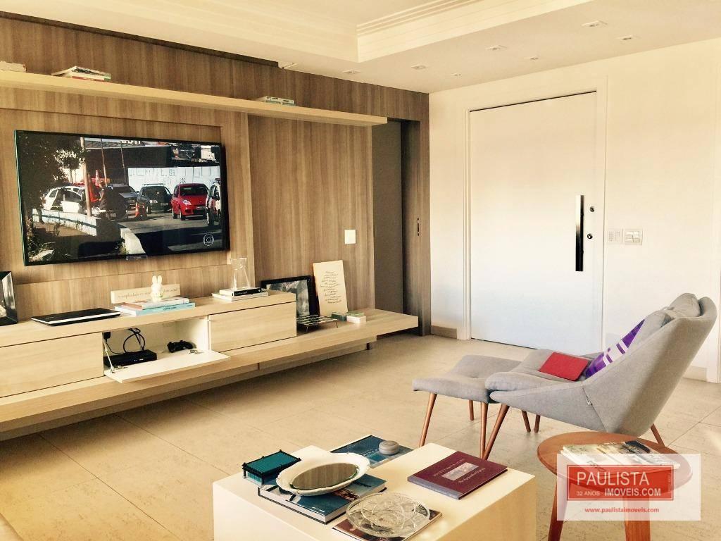 Apartamento com 4 dormitórios à venda, 210 m² por R$ 3.900.000 - Indianópolis - São Paulo/SP