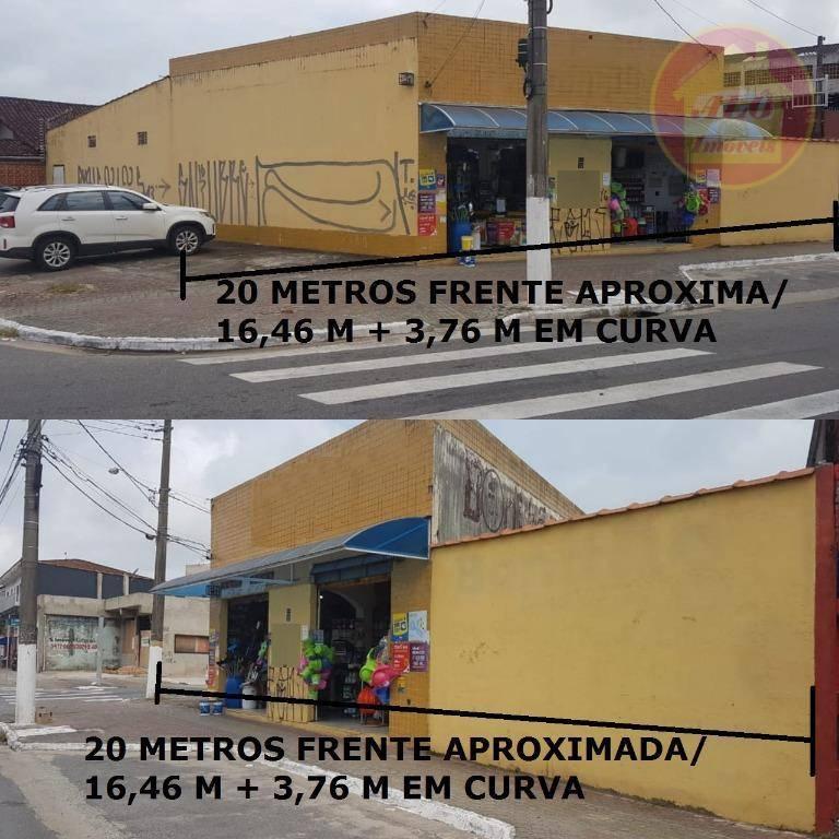 Loja à venda, 201 m² por R$ 750.000,00 - Maracanã - Praia Grande/SP