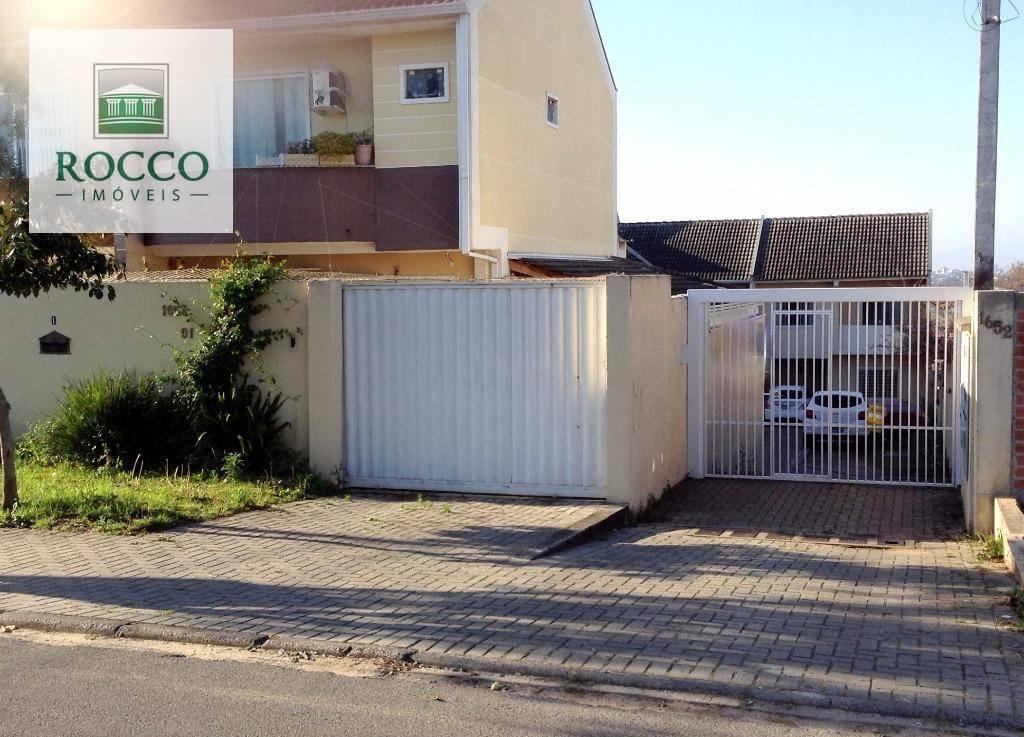 Sobrado residencial à venda, Bairro Alto, Curitiba.