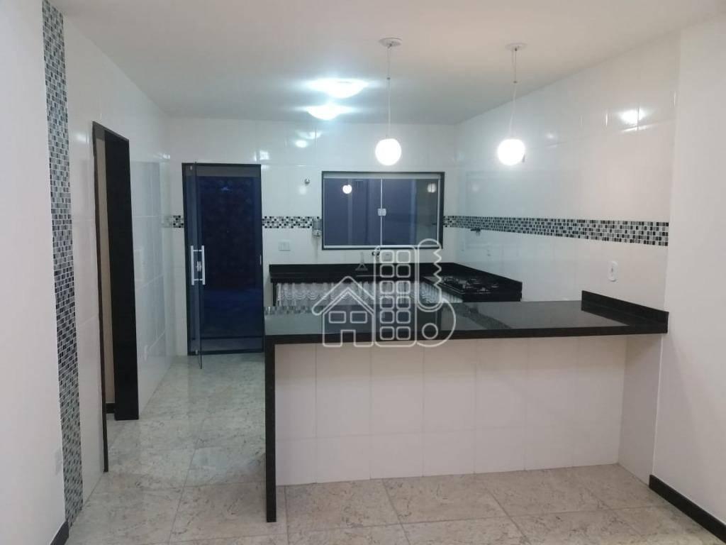 Casa com 2 dormitórios à venda por R$ 350.000 - Centro (Manilha) - Itaboraí/RJ