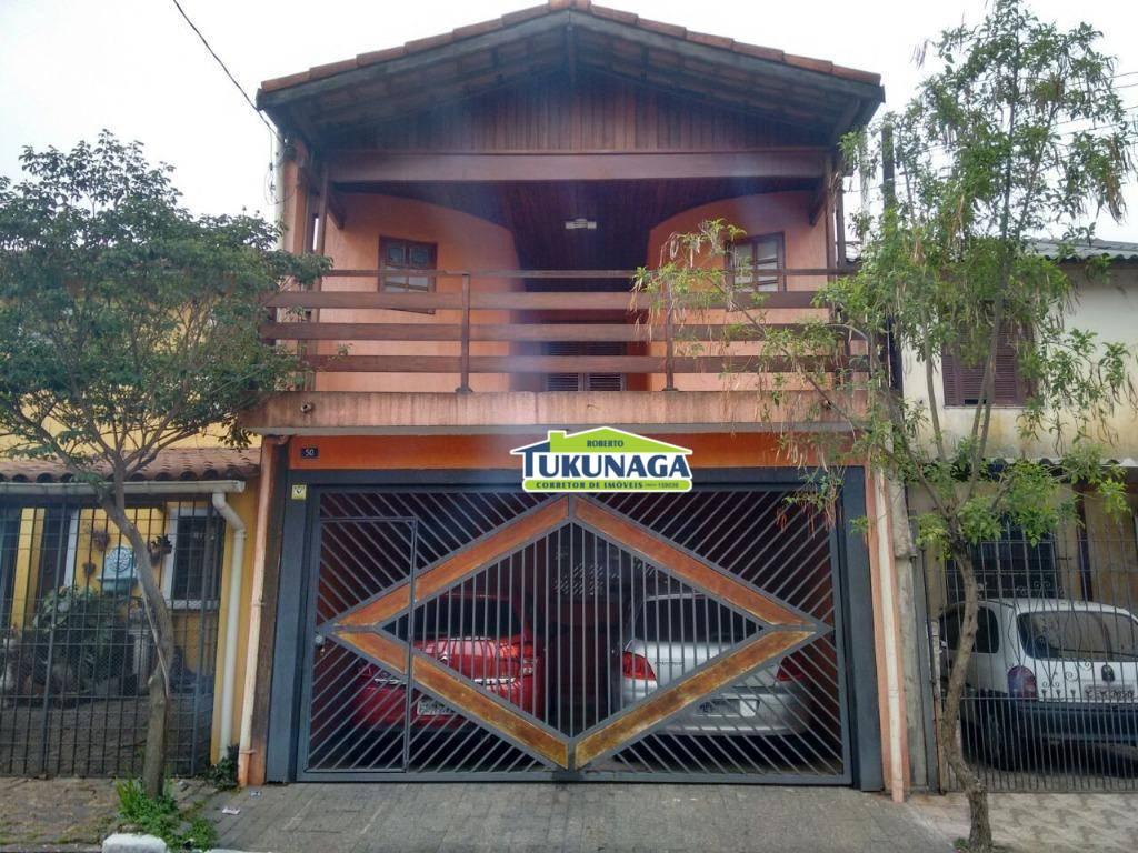 Sobrado residencial à venda, Vila Itapegica, Guarulhos.