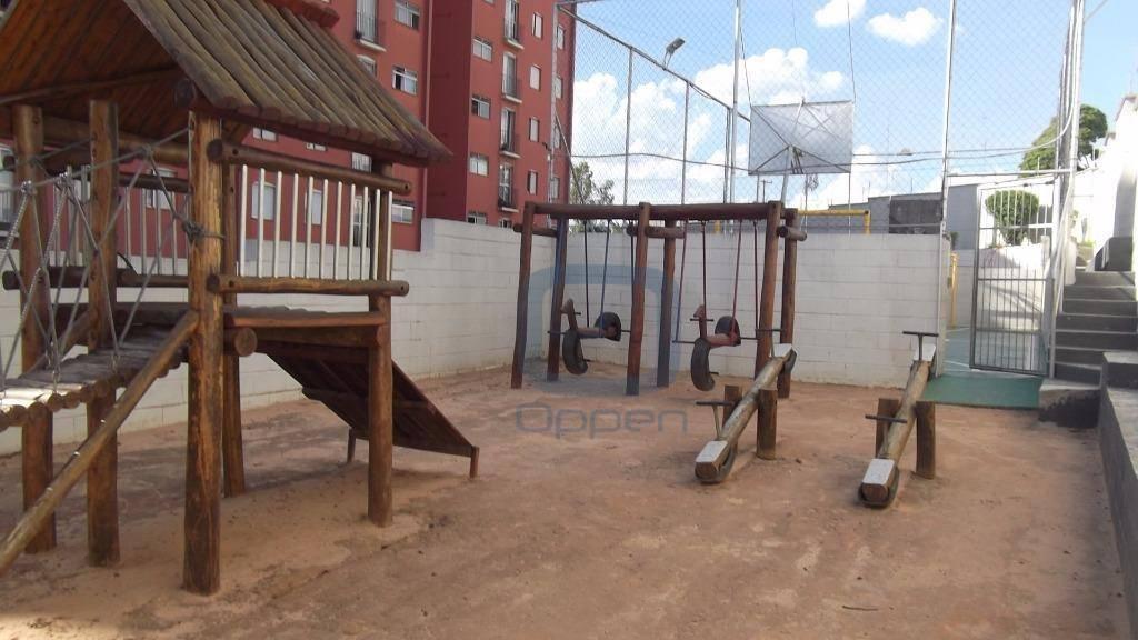 Apartamento residencial para venda e locação, Loteamento Country Ville, Campinas.
