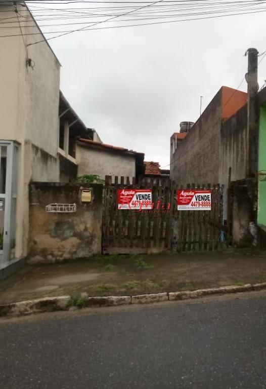 Terreno à venda, 125 m² por R$ 265.000 - Parque Capuava - Santo André/SP