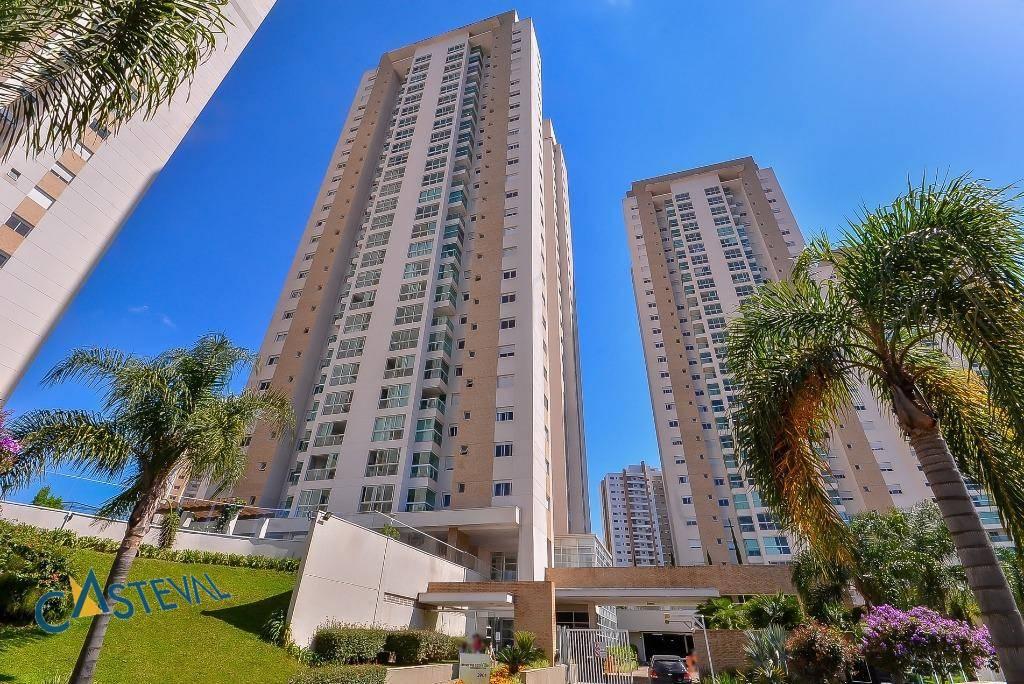 AP0040-CST, Apartamento de 3 quartos, 166 m² à venda no Ecoville - Curitiba/PR