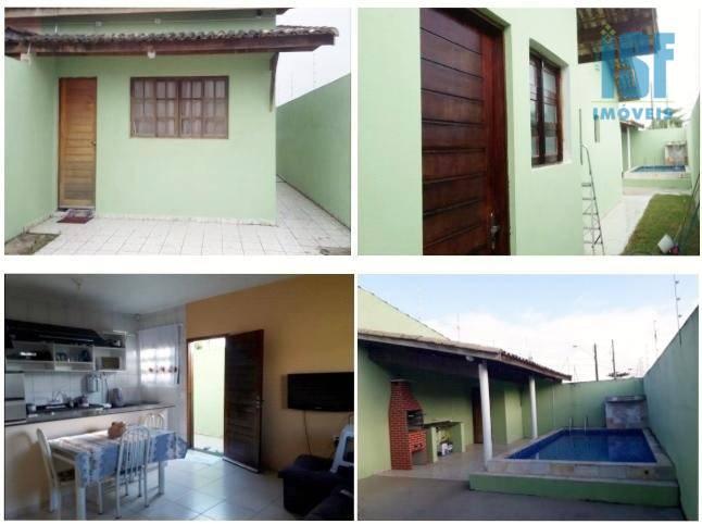 Casa residencial à venda, Jardim Guacyra, Itanhaém - CA1013.