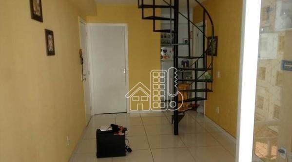 Cobertura com 2 dormitórios à venda, 99 m² por R$ 200.000 - Rocha - São Gonçalo/RJ