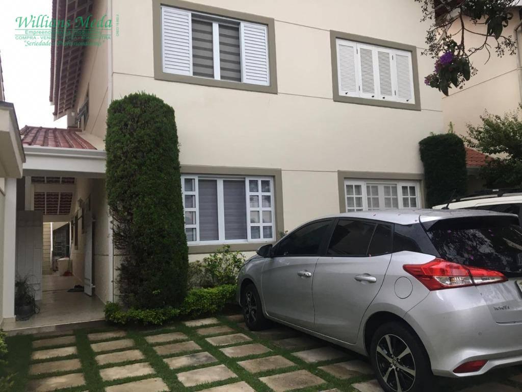 Sobrado com 4 dormitórios à venda, 210 m² por R$ 1.200.000,00 - Ponte Grande - Guarulhos/SP