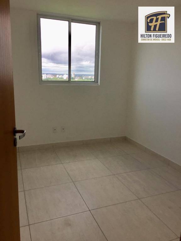 Apartamento com 2 dormitórios para alugar, 55 m² por R$ 1.500/mês - Castelo Branco - João Pessoa/PB