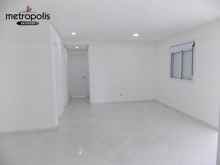 Apartamento com 3 dormitórios à venda, 115 m² por R$ 850.000,00 - Jardim - Santo André/SP