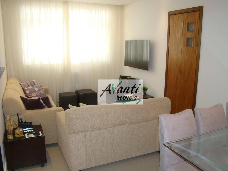 Apartamento com 2 dormitórios à venda, 76 m² por R$ 425.000,00 - Embaré - Santos/SP