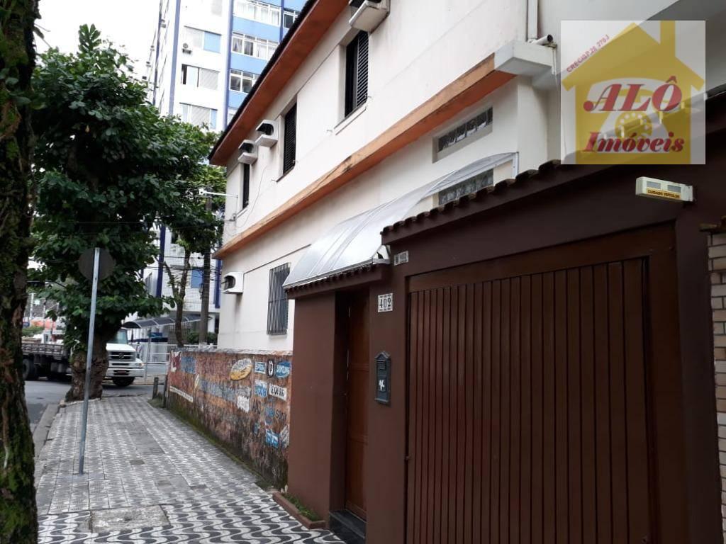 Casa com 3 dormitórios à venda, 140 m² por R$ 530.000,00 - Itararé - São Vicente/SP