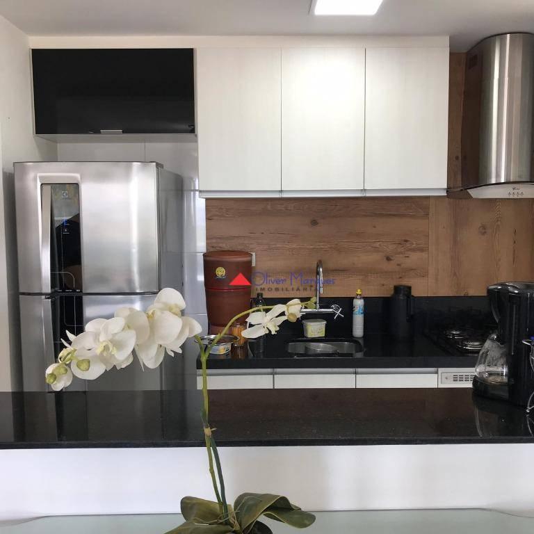 Apartamento com 2 dormitórios à venda, 52 m² por R$ 305.000 - Quitaúna - Osasco/SP