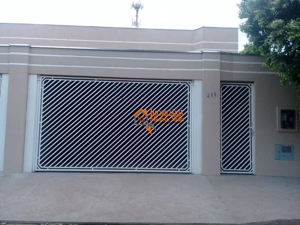 Casa com 2 dormitórios à venda, 110 m²  - Caiabu - Caiabu/SP