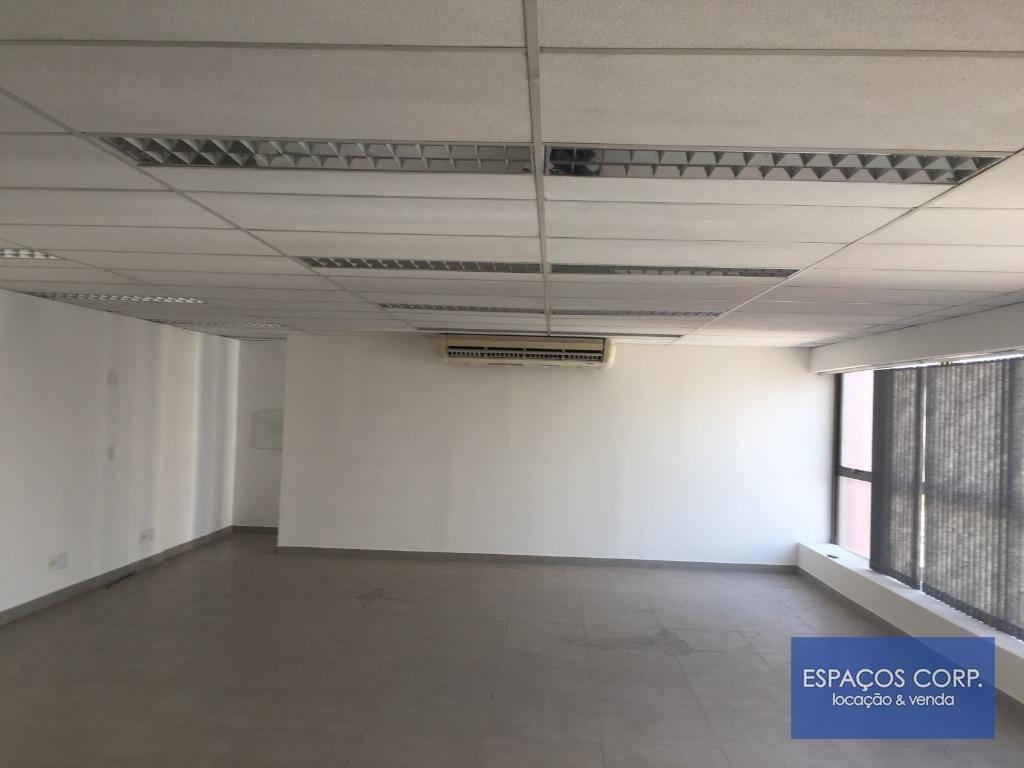 Conjunto comercial para locação, 90m² - Chácara Santo Antônio - São Paulo/SP