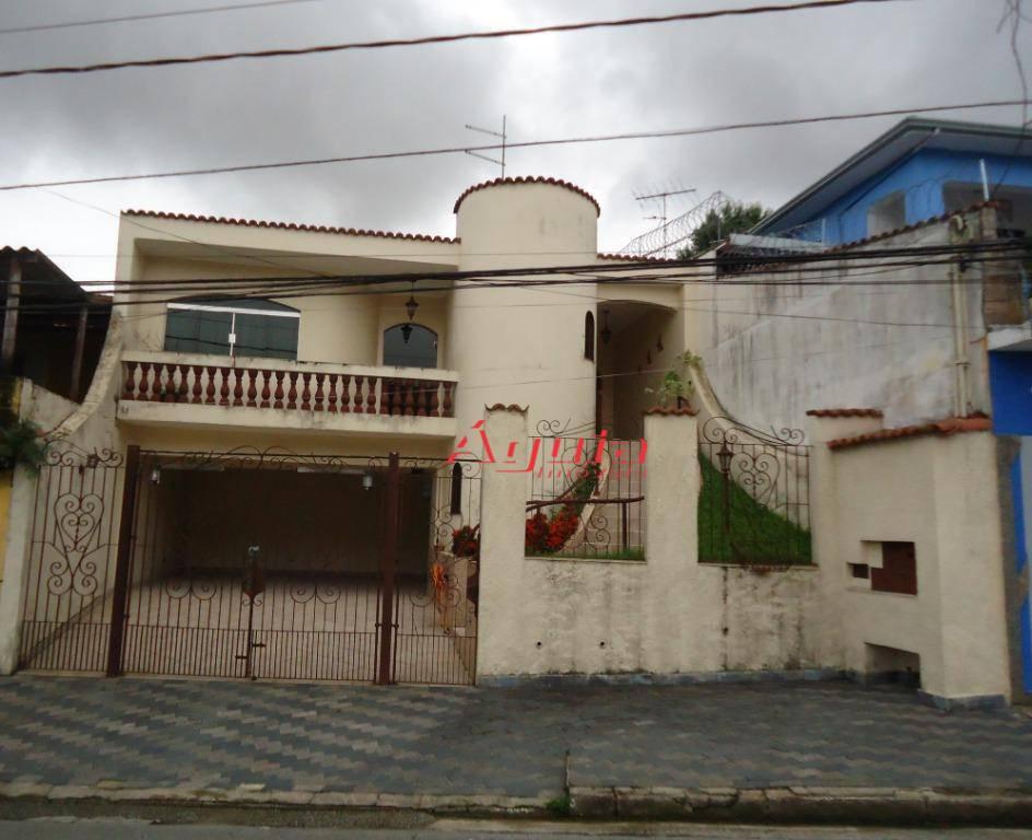 Casa com 3 dormitórios à venda, 200 m² por R$ 750.000 - Vila Curuçá - Santo André/SP