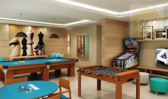 Apartamento com 3 dormitórios à venda, 92 m² por R$ 582.309 - Praia Do Sonho - Itanhaém/SP