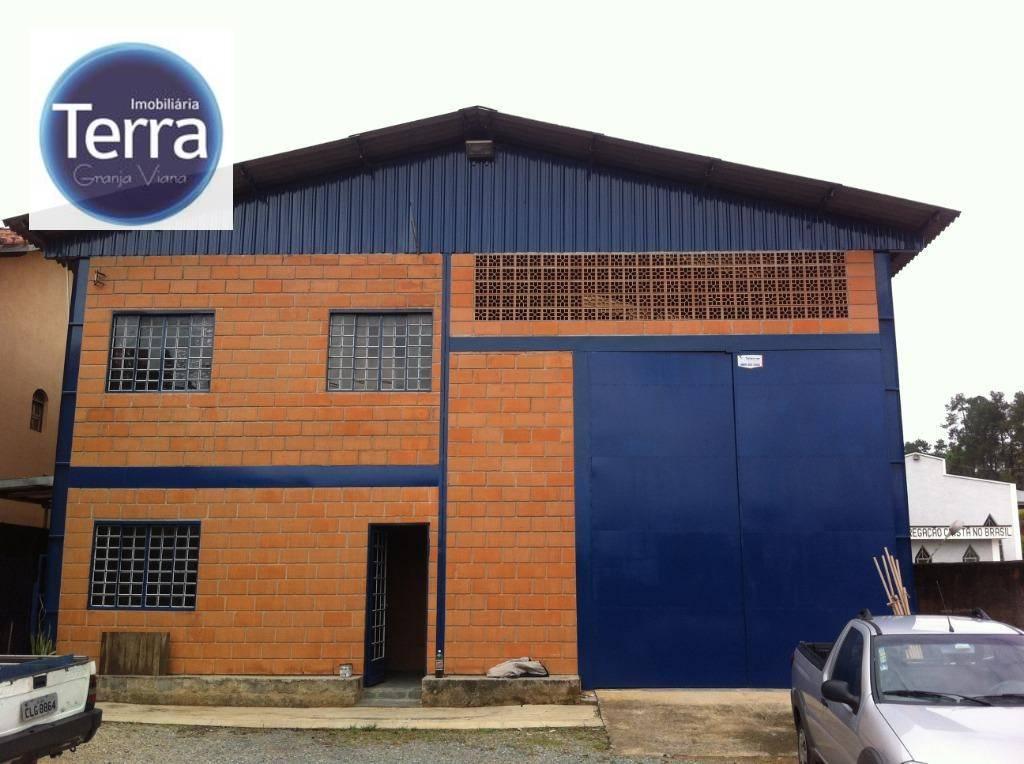 Galpão à venda, 600 m² por R$ 2.700.000 - Belizario - Granja Viana