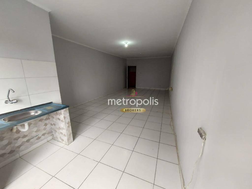 Kitnet com 1 dormitório para alugar, 50 m² por R$ 1.000,00/mês - São José - São Caetano do Sul/SP