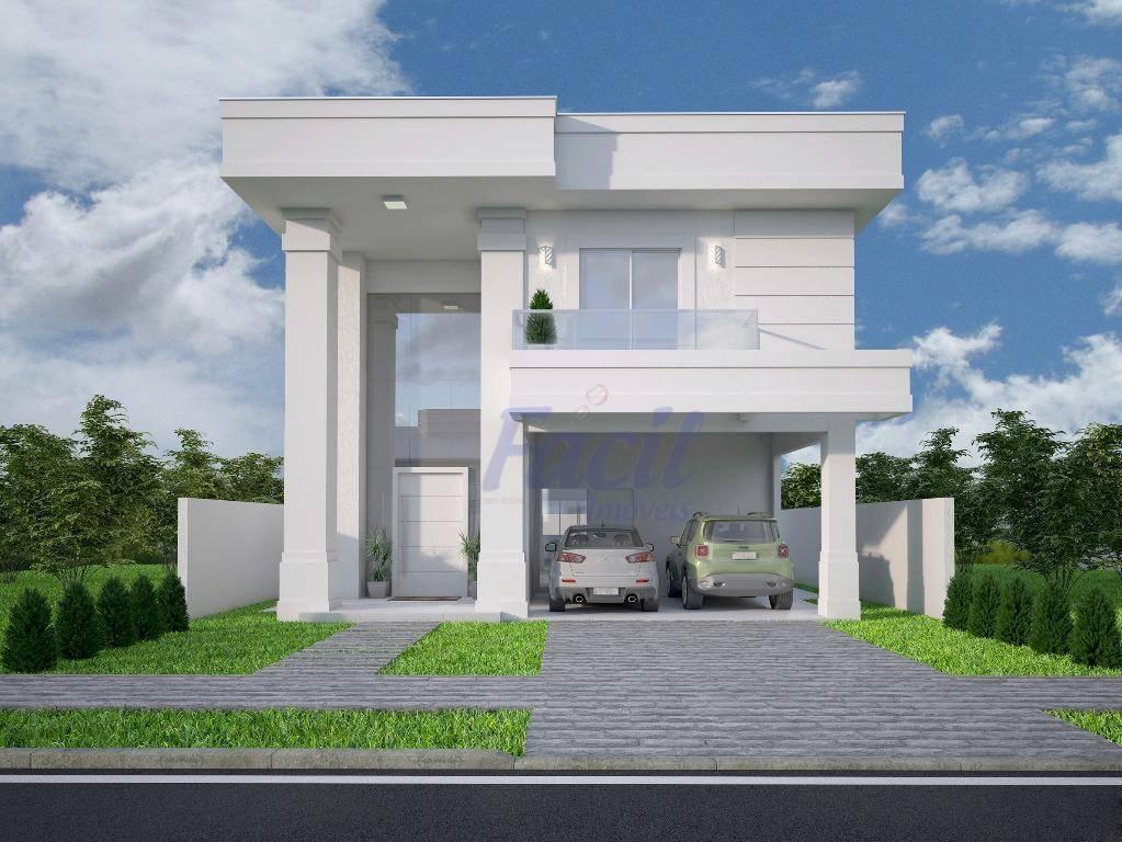 Casa residencial à venda, Jardim Carvalho, Ponta Grossa.