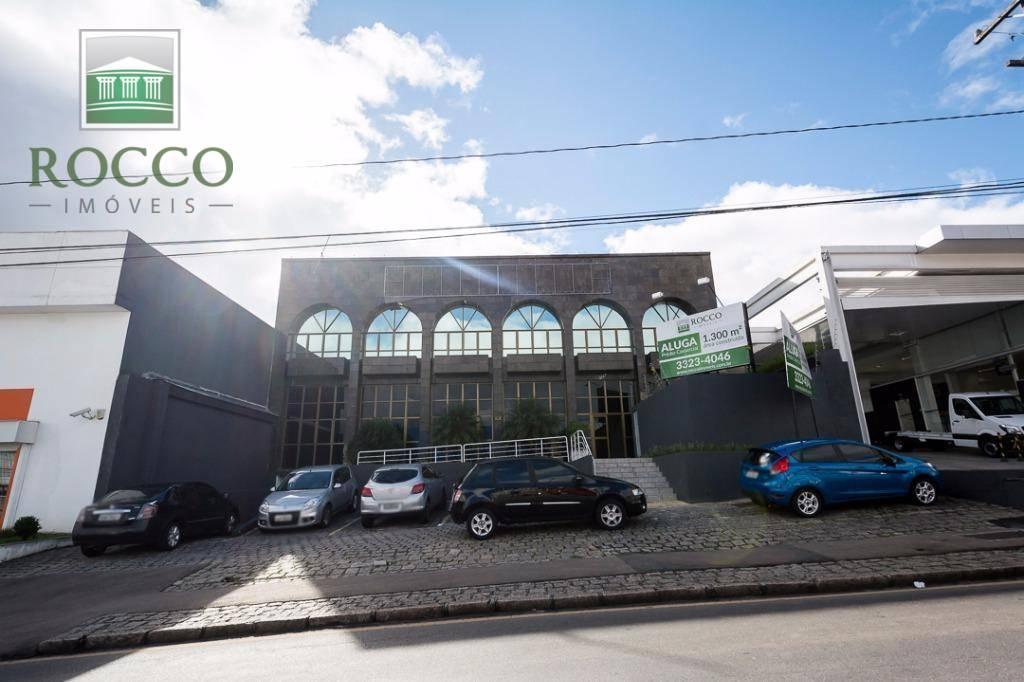 Prédio comercial para locação, Rebouças, Curitiba - PR0002.