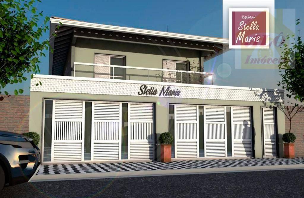 Casa à venda, 78 m² por R$ 225.000,00 - Maracanã - Praia Grande/SP