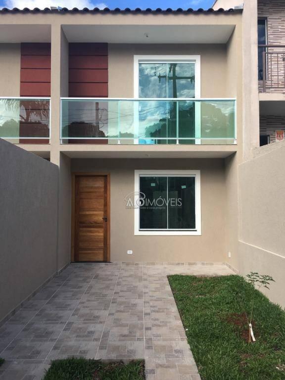 Sobrado com 2 dormitórios à venda, 73 m² por R$ 220.000 - Sítio Cercado - Curitiba/PR