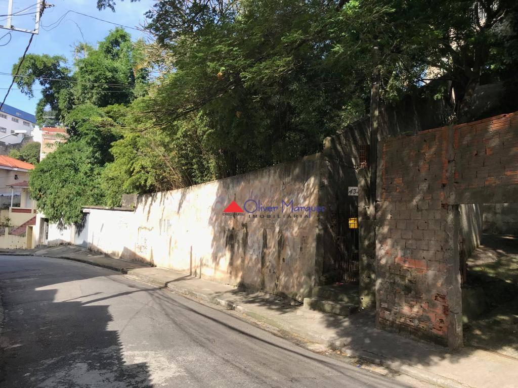 Terreno à venda, 358 m² por R$ 480.000 - Jaguaré - São Paulo/SP
