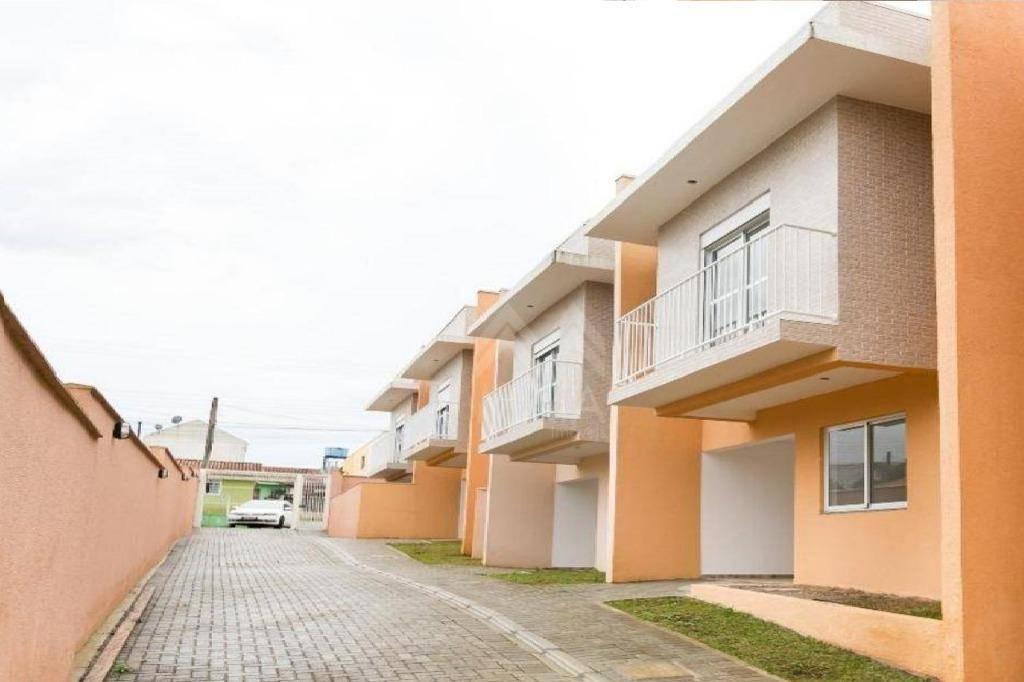 Sobrado residencial à venda, Cachoeira, Curitiba.
