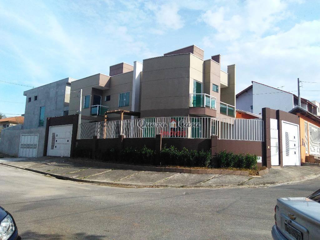 Sobrado residencial à venda, Jardim Paraíso, Mogi das Cruzes