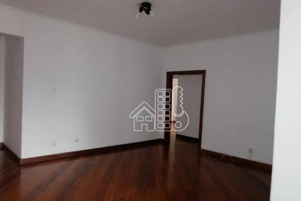 Apartamento com 3 dormitórios à venda, 151 m² por R$ 740.000 - Ingá - Niterói/RJ