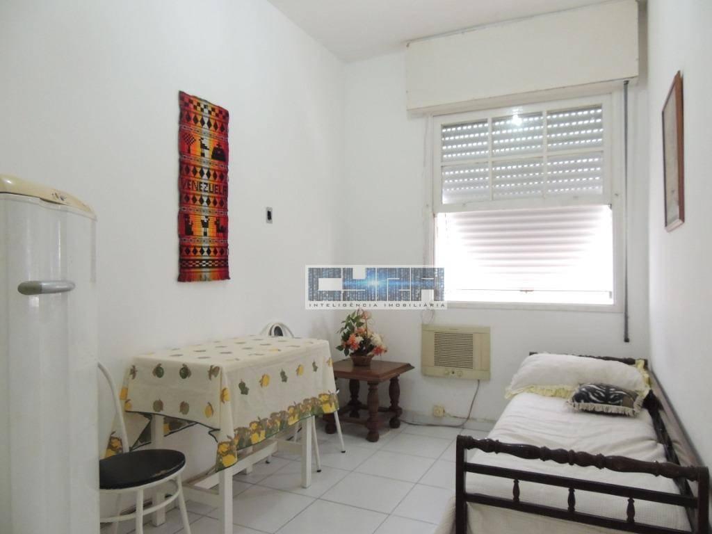 Apartamento de 1 dormitório no Embaré em Santos