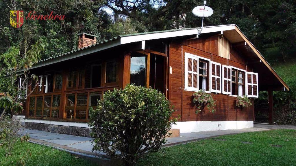 Casa residencial à venda, Alto Do Capivari, Campos do Jordão - CA0144.