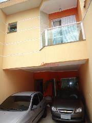 Sobrado residencial à venda, Vila Lucinda, Santo André - SO0379.
